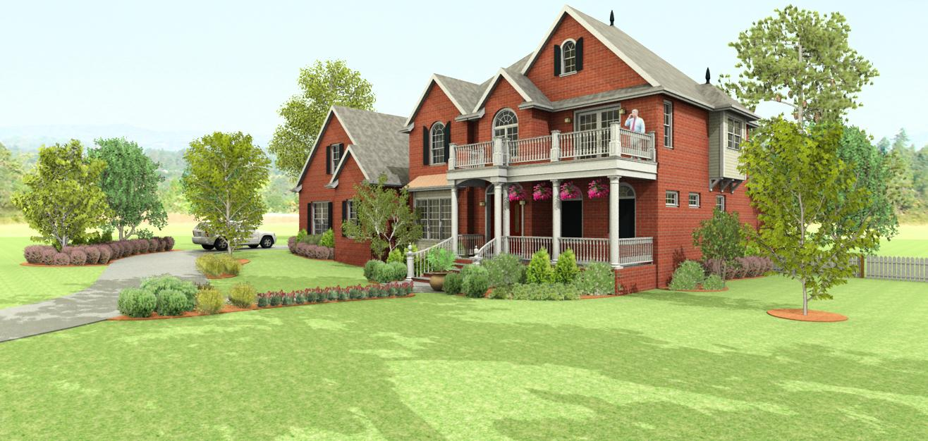 Detailed 3D Architectural Renderings
