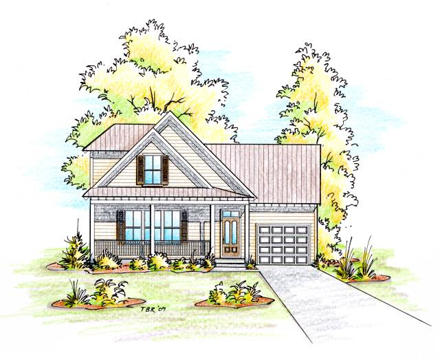 Customized Home Plans Architectural Rendering
