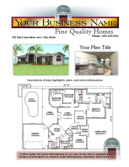 Custom Home Design Promotionals